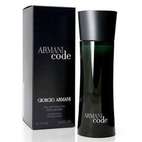 Armani Code For Men Eau de Toilette 4.2 oz Spray