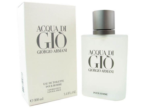 Acqua Di Gio Eau de Toilette For Men 3.4 oz Spray