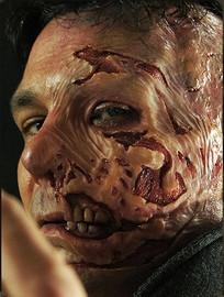 Half Burn Face