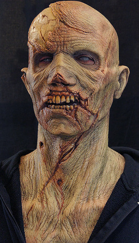 Silicone Zombie Mask - The Survivor