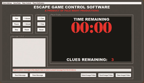Game Control Software