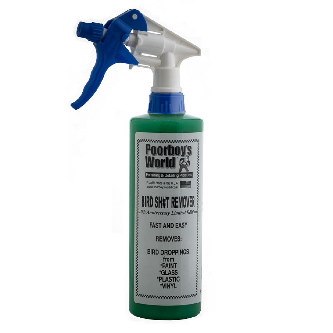 Poorboy's World Bird Sh#t Remover 16oz. w/Sprayer