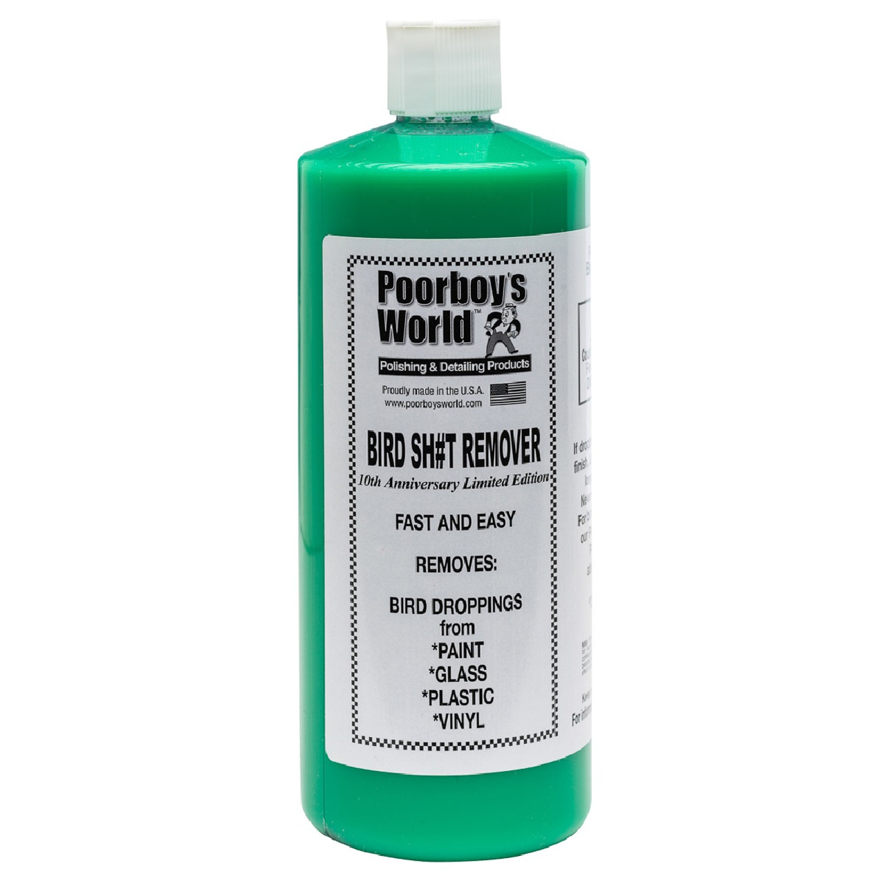 Poorboy's World Bird Sh#t Remover 32oz Refill