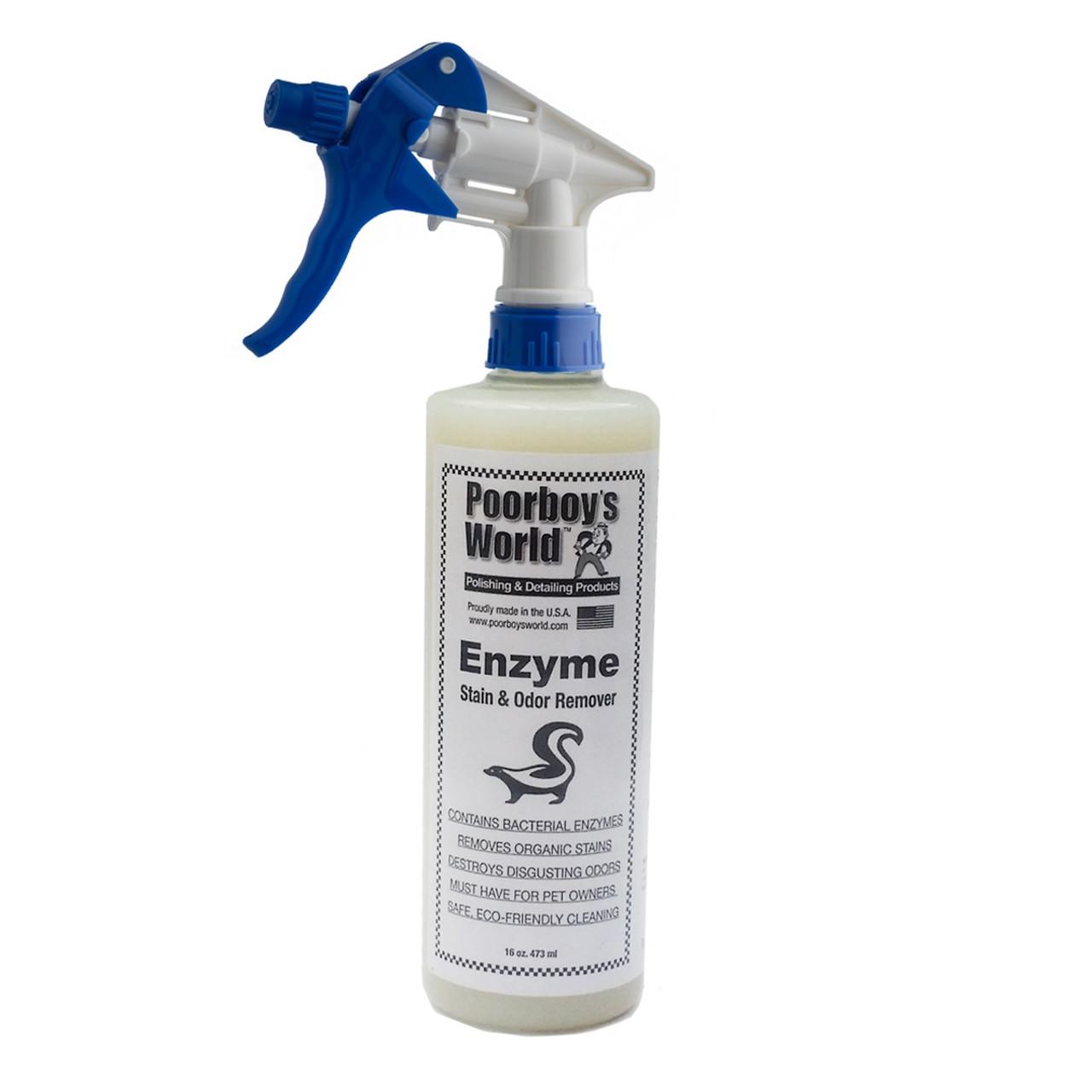 Poorboy's World Enzyme Stain & Odor Remover 16oz w/Sprayer
