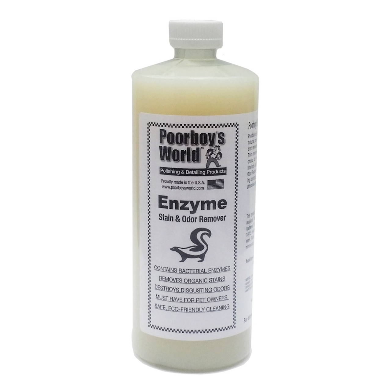 Poorboy's World Enzyme Stain & Odor Remover 32oz Refill