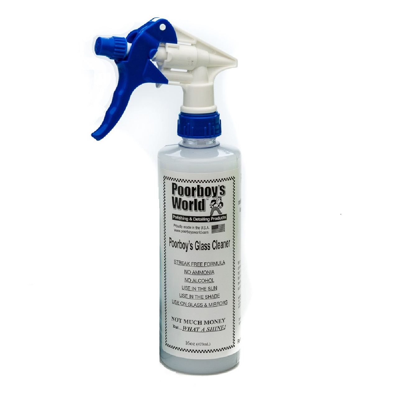 Poorboy's World Poorboy's World Glass Cleaner 32oz w/Sprayer