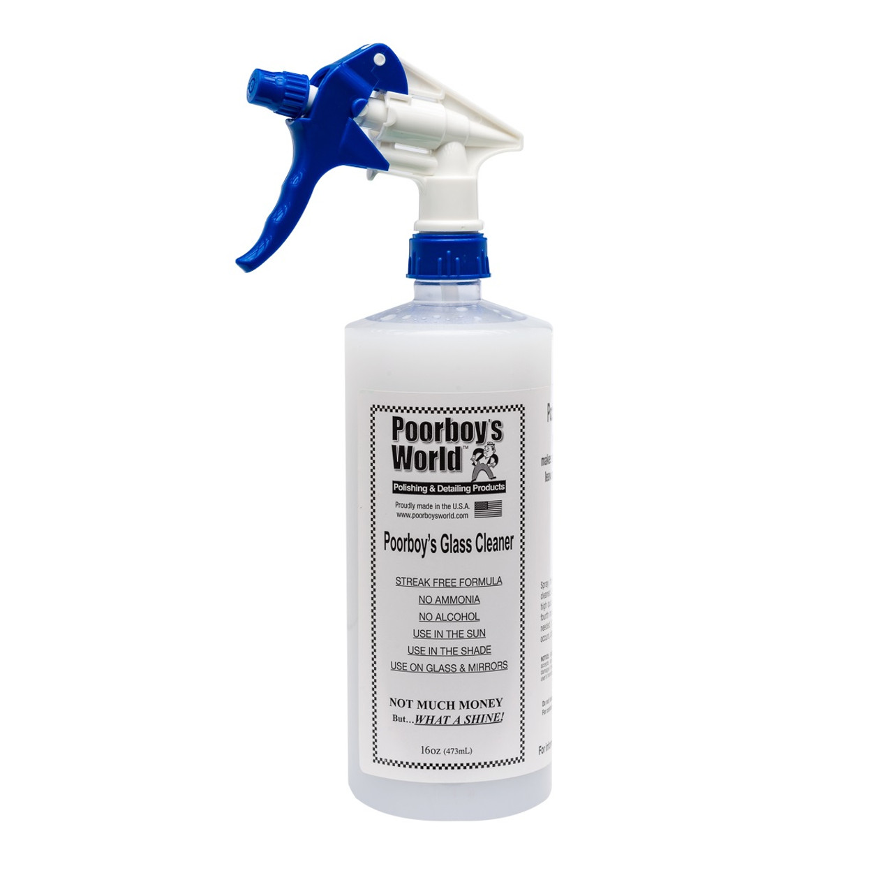 Poorboy's World Glass Cleaner 32oz w/Sprayer