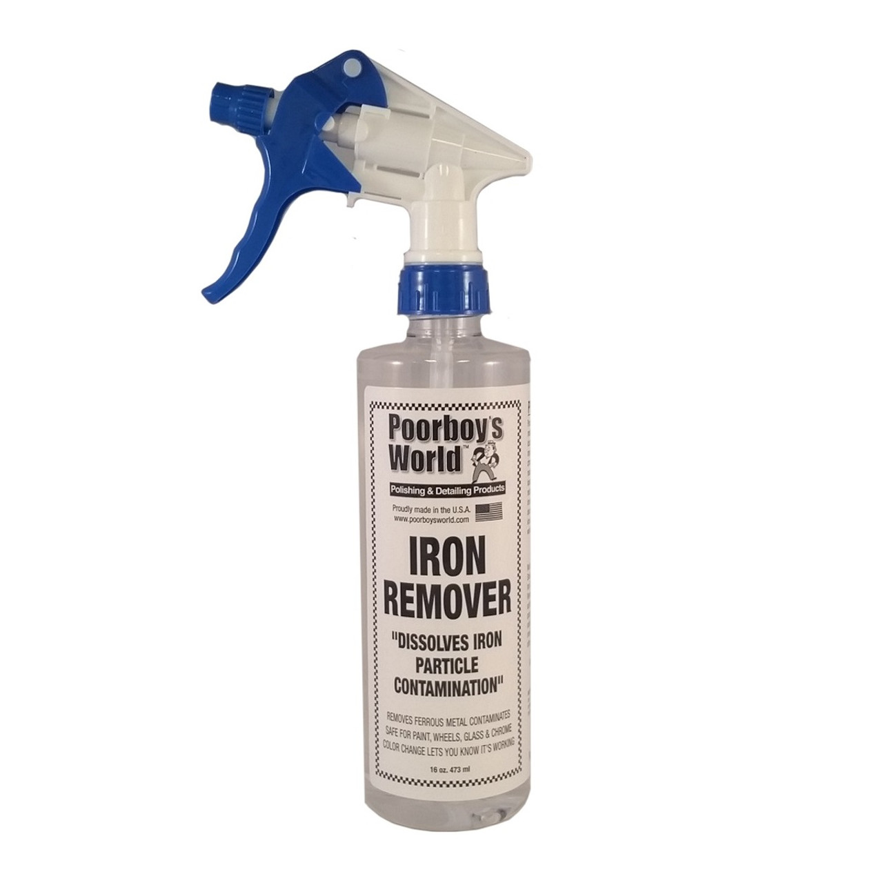 Poorboy's World Iron Remover 16oz w/Sprayer