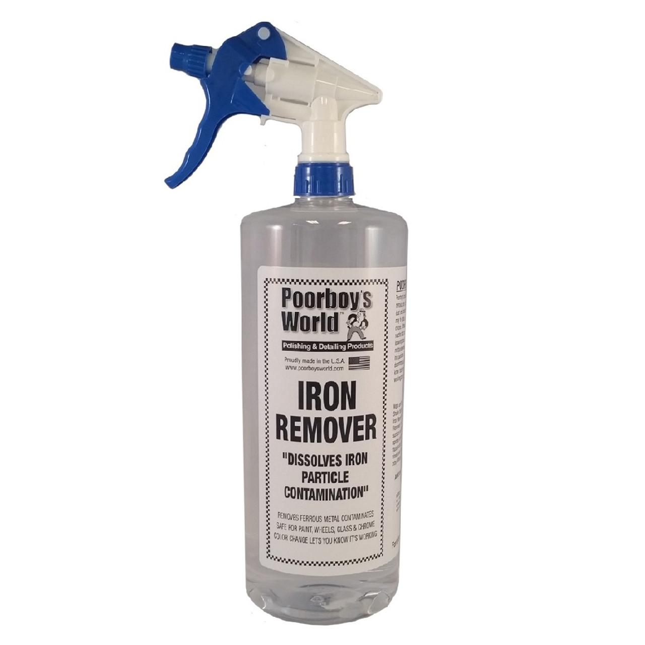 Poorboy's World Iron Remover 32oz w/Sprayer