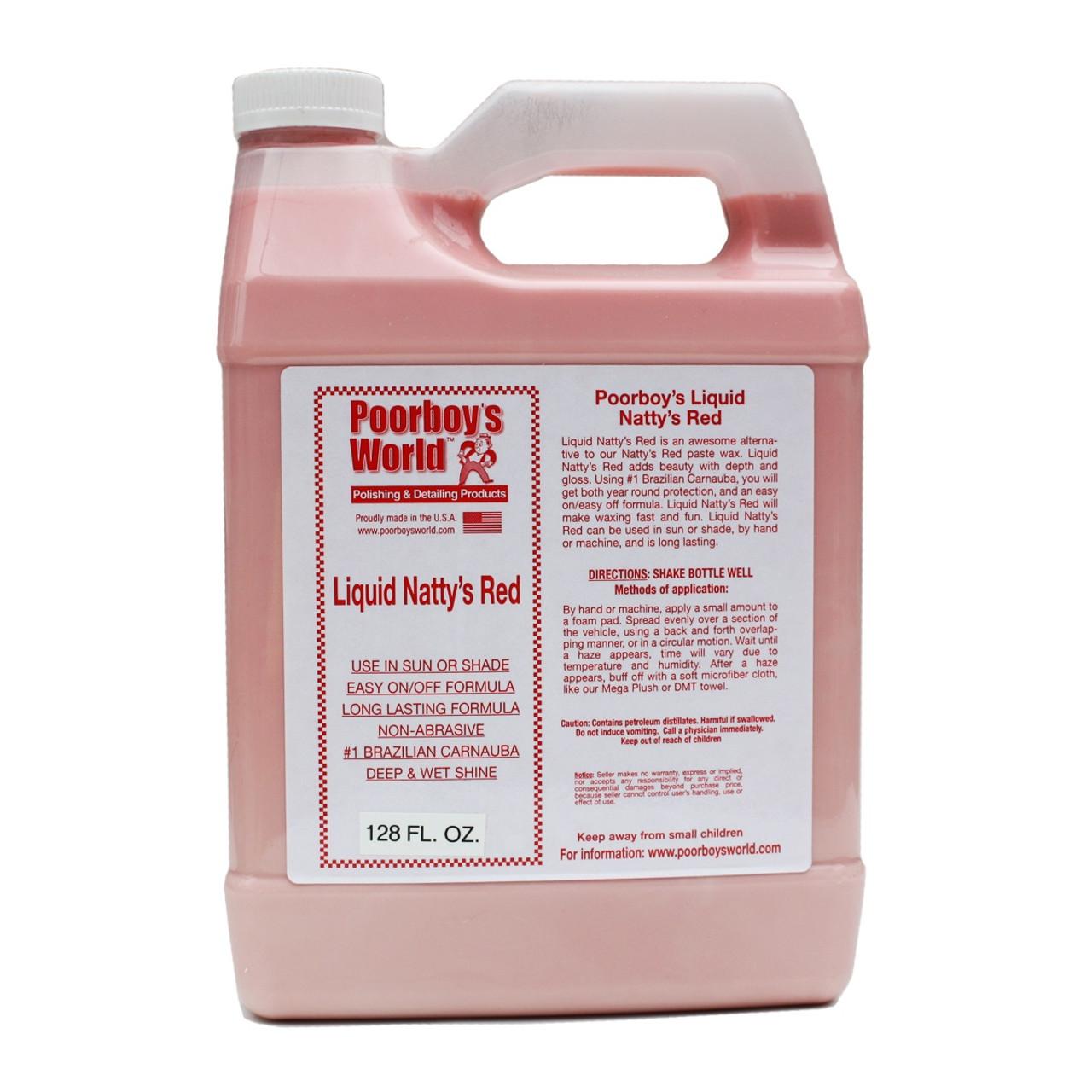 Poorboy's World Liquid Natty's Red Gallon