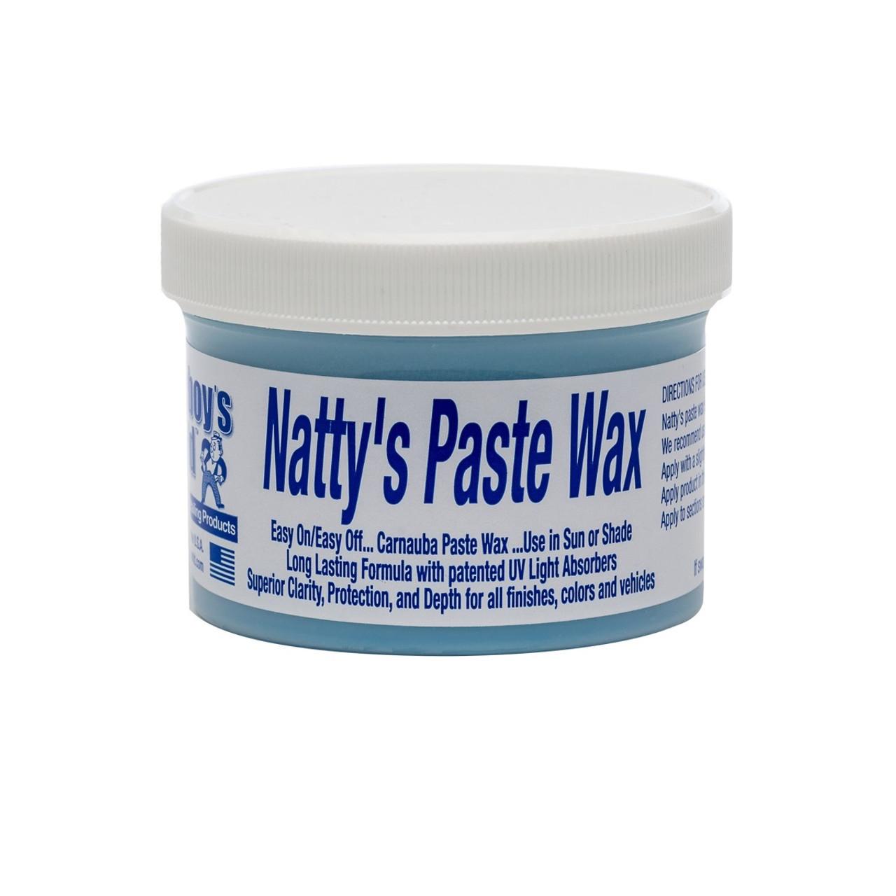 Poorboy's World Natty's Paste Wax - Blue 8oz
