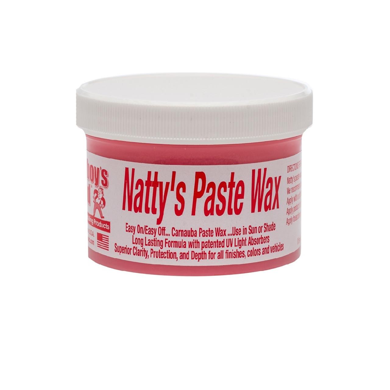 Poorboy's World Natty's Paste Wax - Red 8oz