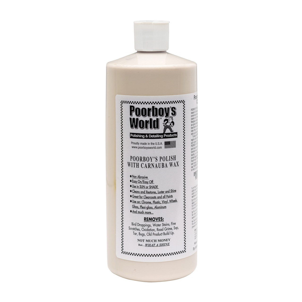 Poorboy's World Polish with Carnauba 32oz