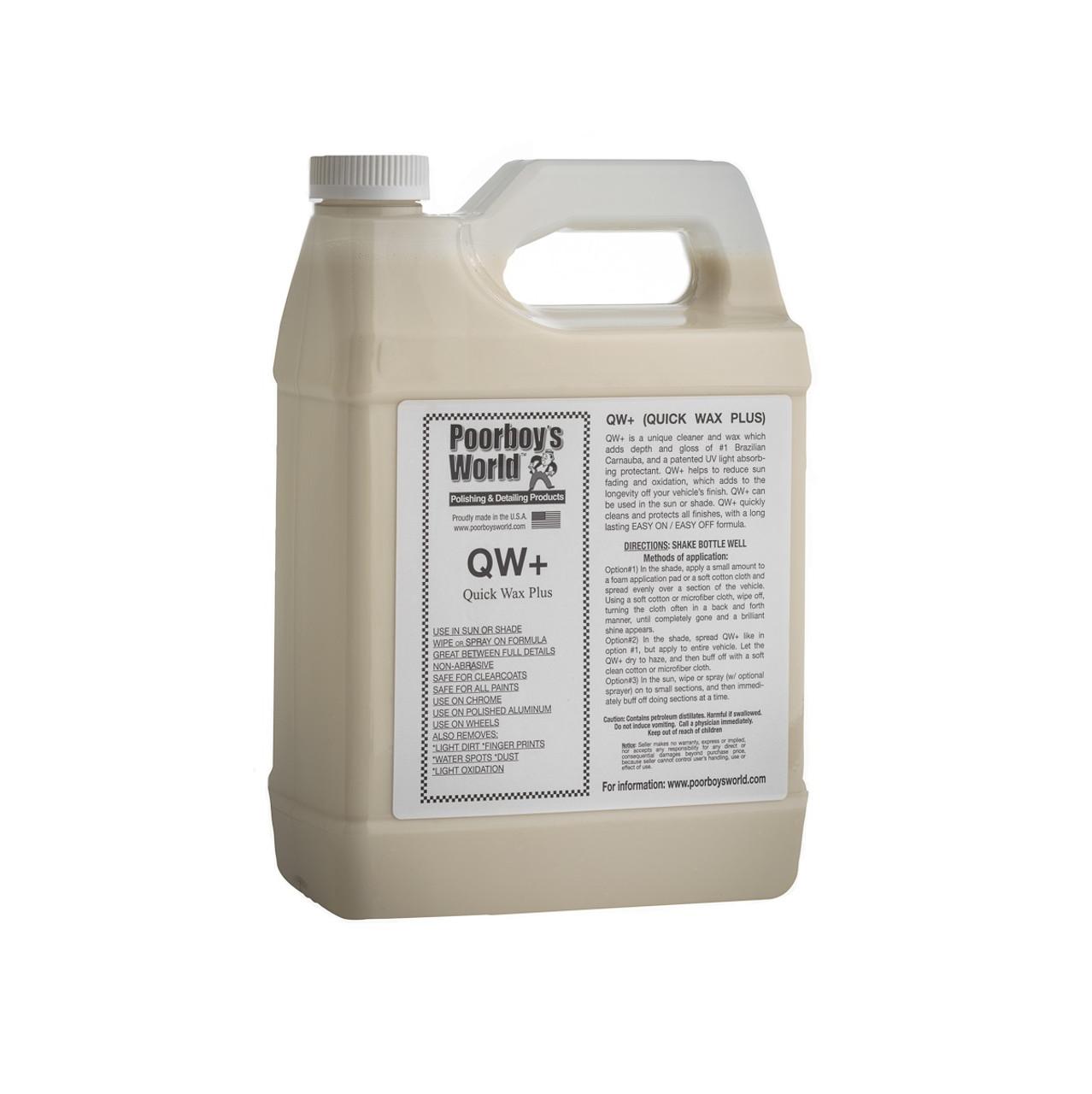 Poorboy's World QW+ Quick Wax Gallon