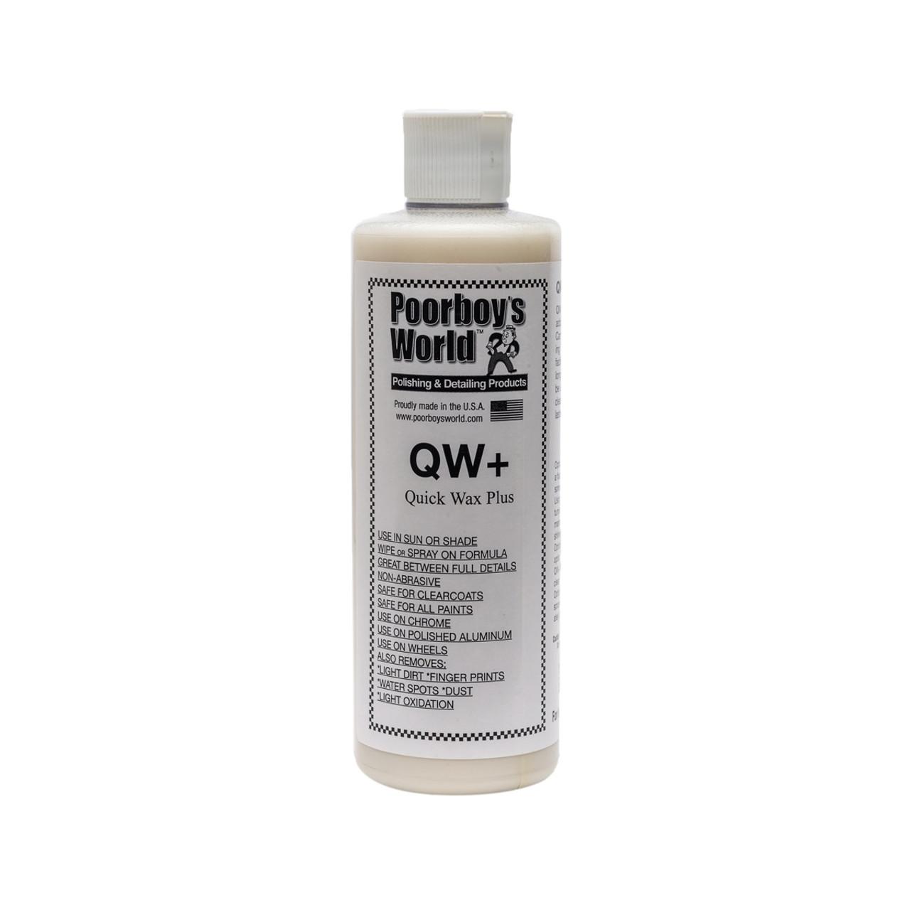 Poorboy's World QW+ Quick Wax 16oz