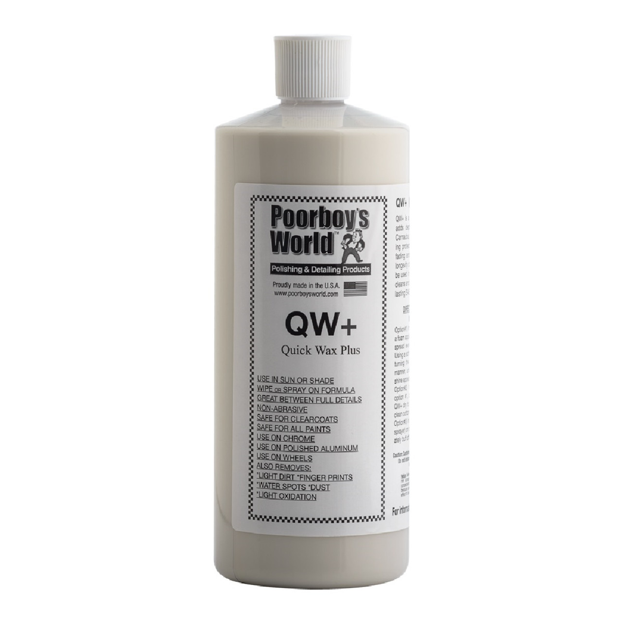 Poorboy's World QW+ Quick Wax 32oz