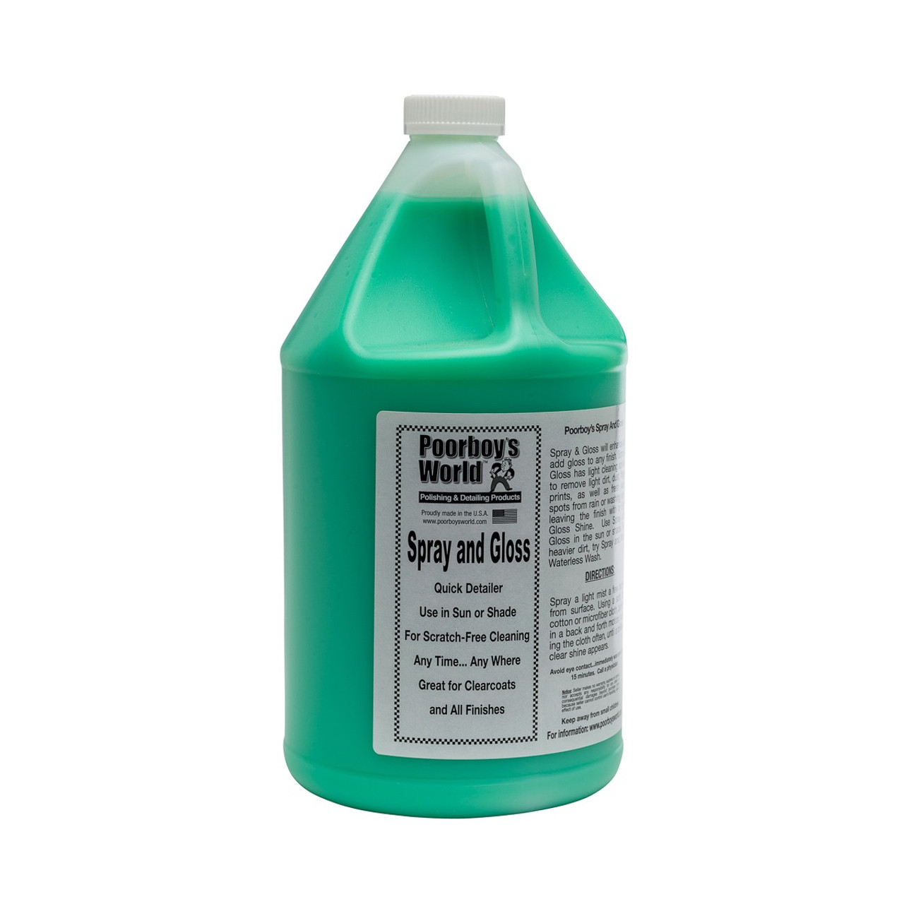 Poorboy's World Spray and Gloss Gallon