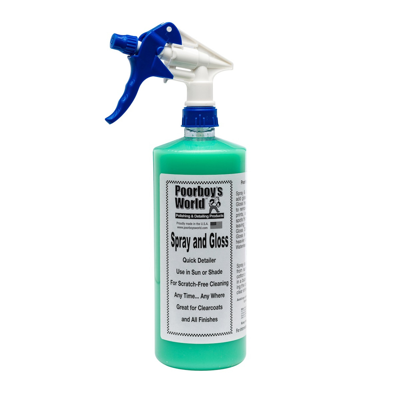 Poorboy's World Spray and Gloss 32oz w/Sprayer