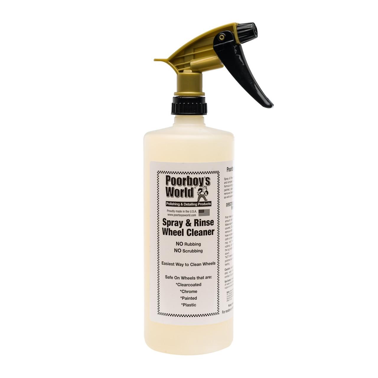 Spray & Rinse Wheel Cleaner 32oz