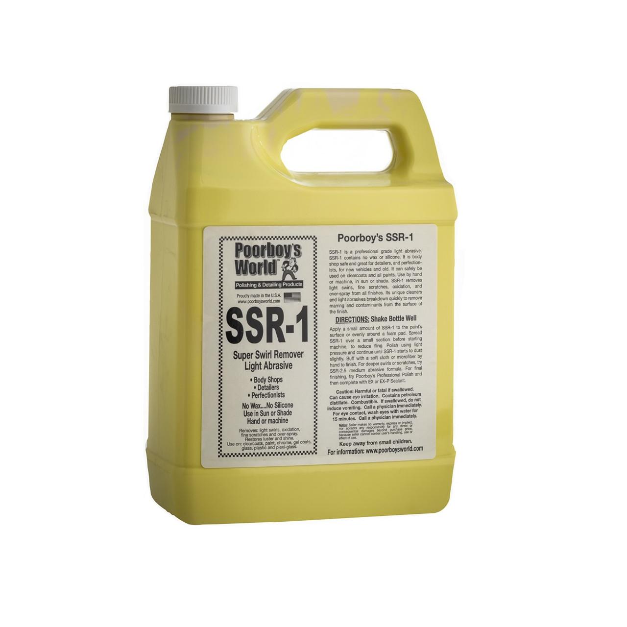 Poorboy's World SSR-1 Super Swirl Remover Gallon
