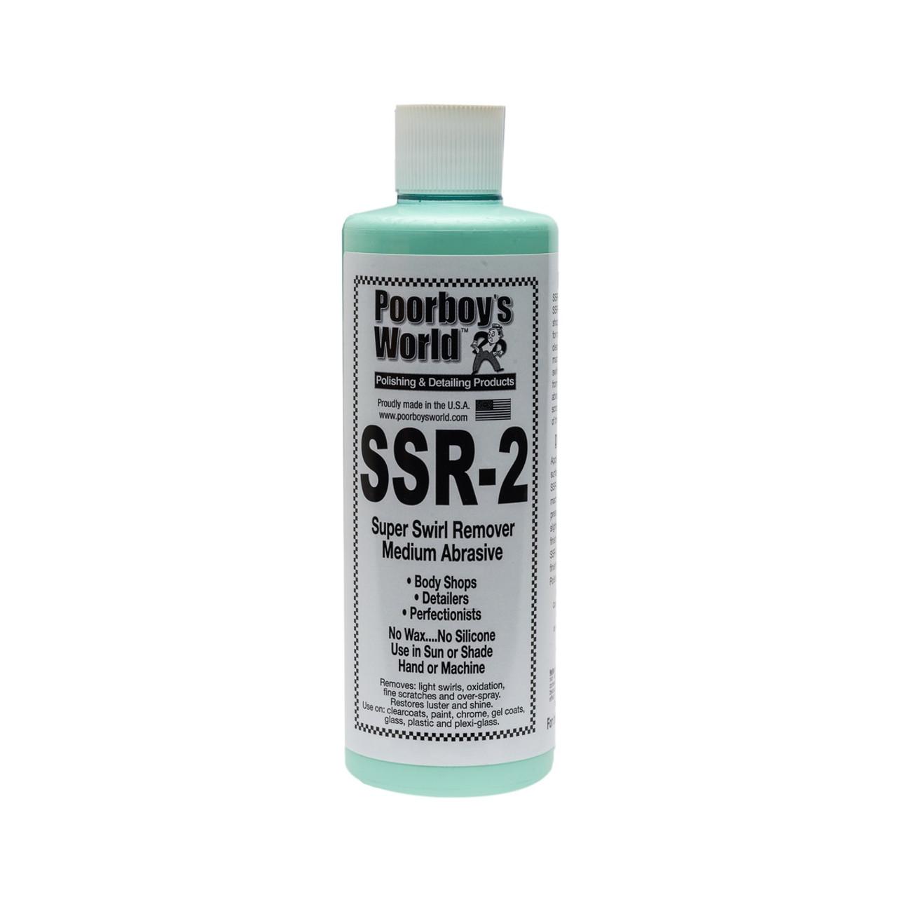 Poorboy's World SSR-2 Super Swirl Remover 16oz