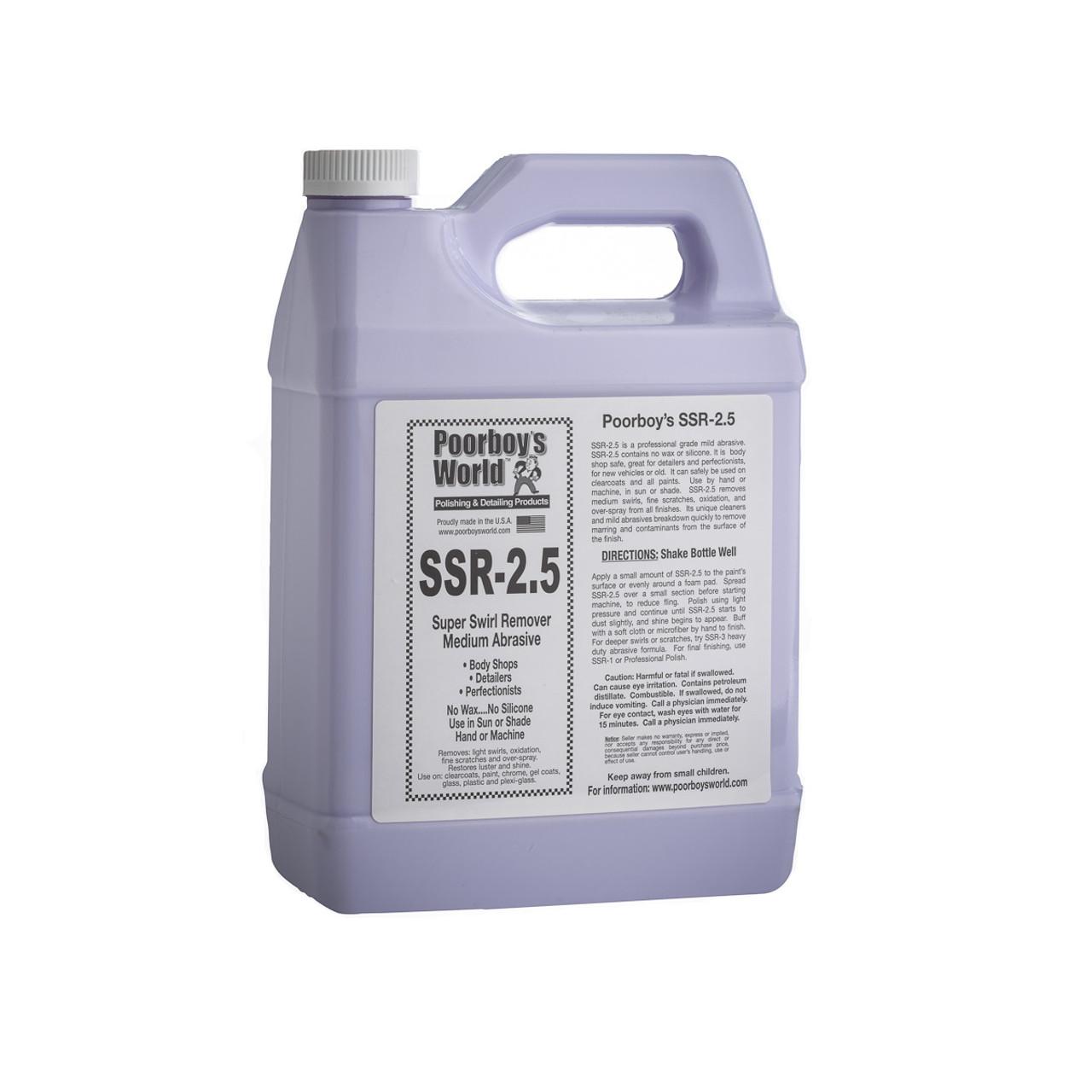 Poorboy's World SSR-2.5 Super Swirl Remover Gallon