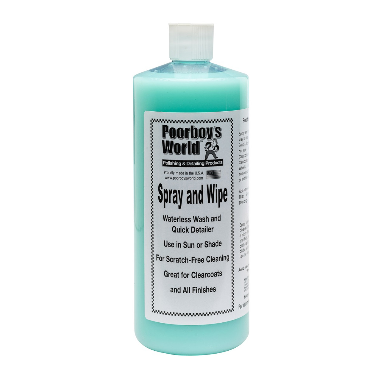 Poorboy's World Spray and Wipe 32oz Refill
