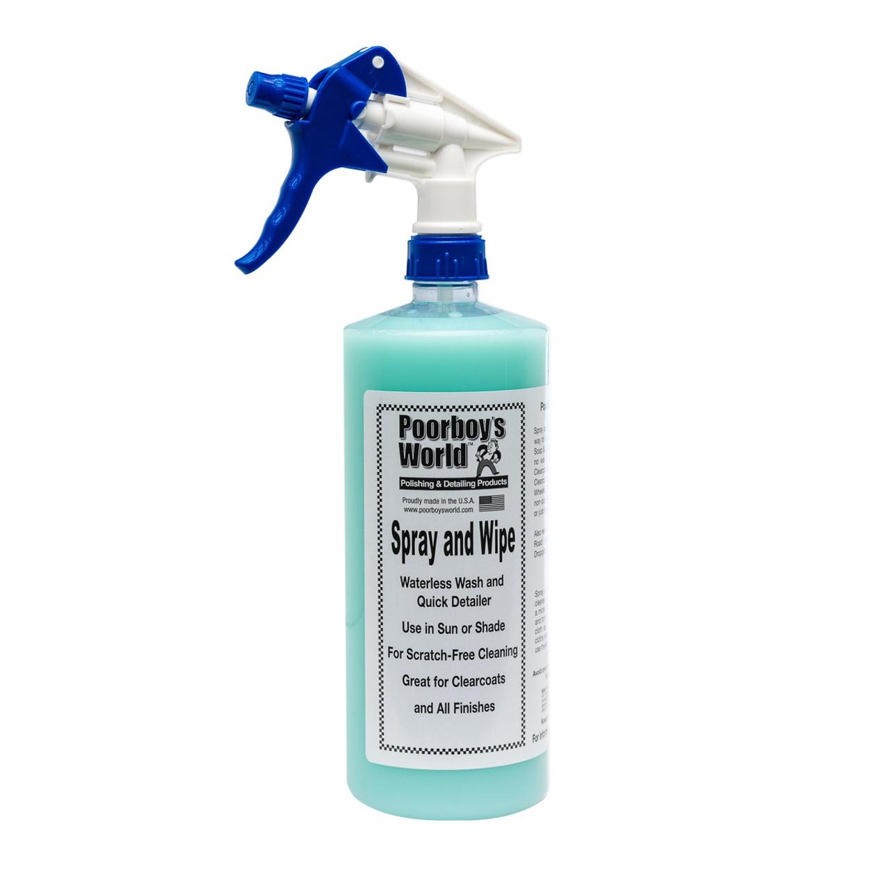 Poorboy's World Spray and Wipe 32oz w/Sprayer
