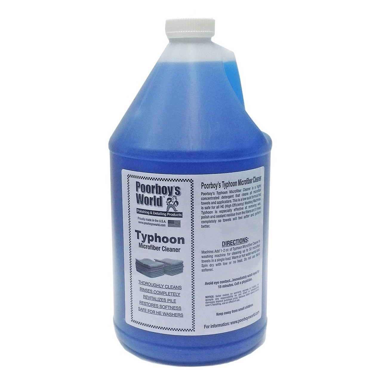 Poorboy's World Typhoon Microfiber Cleaner Gallon