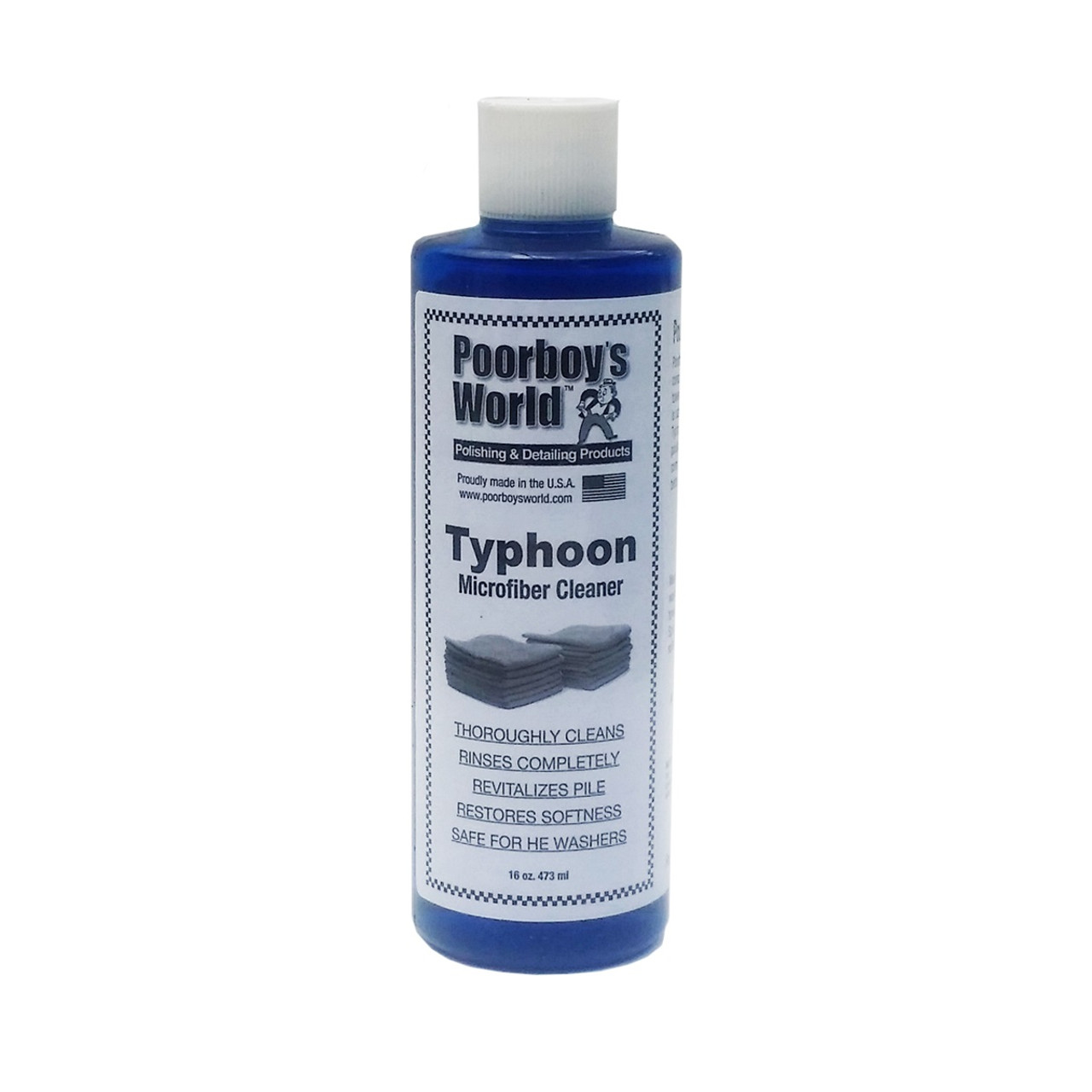 Poorboy's World Typhoon Microfiber Cleaner 16oz