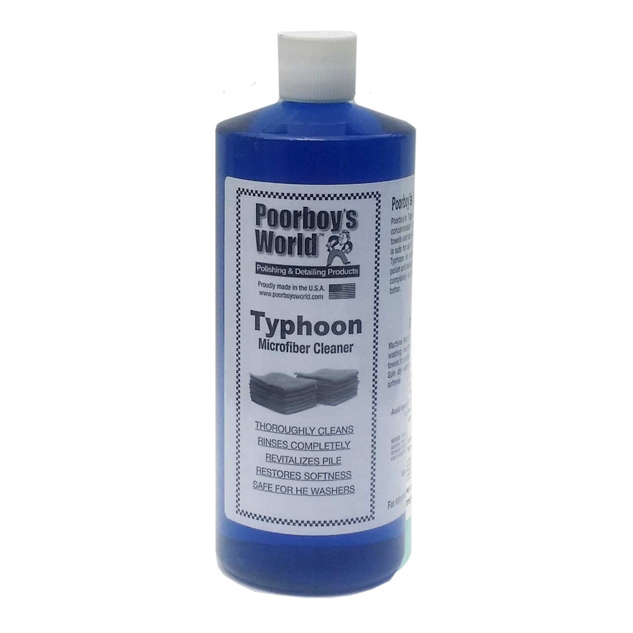 Poorboy's World Typhoon Microfiber Cleaner 32oz