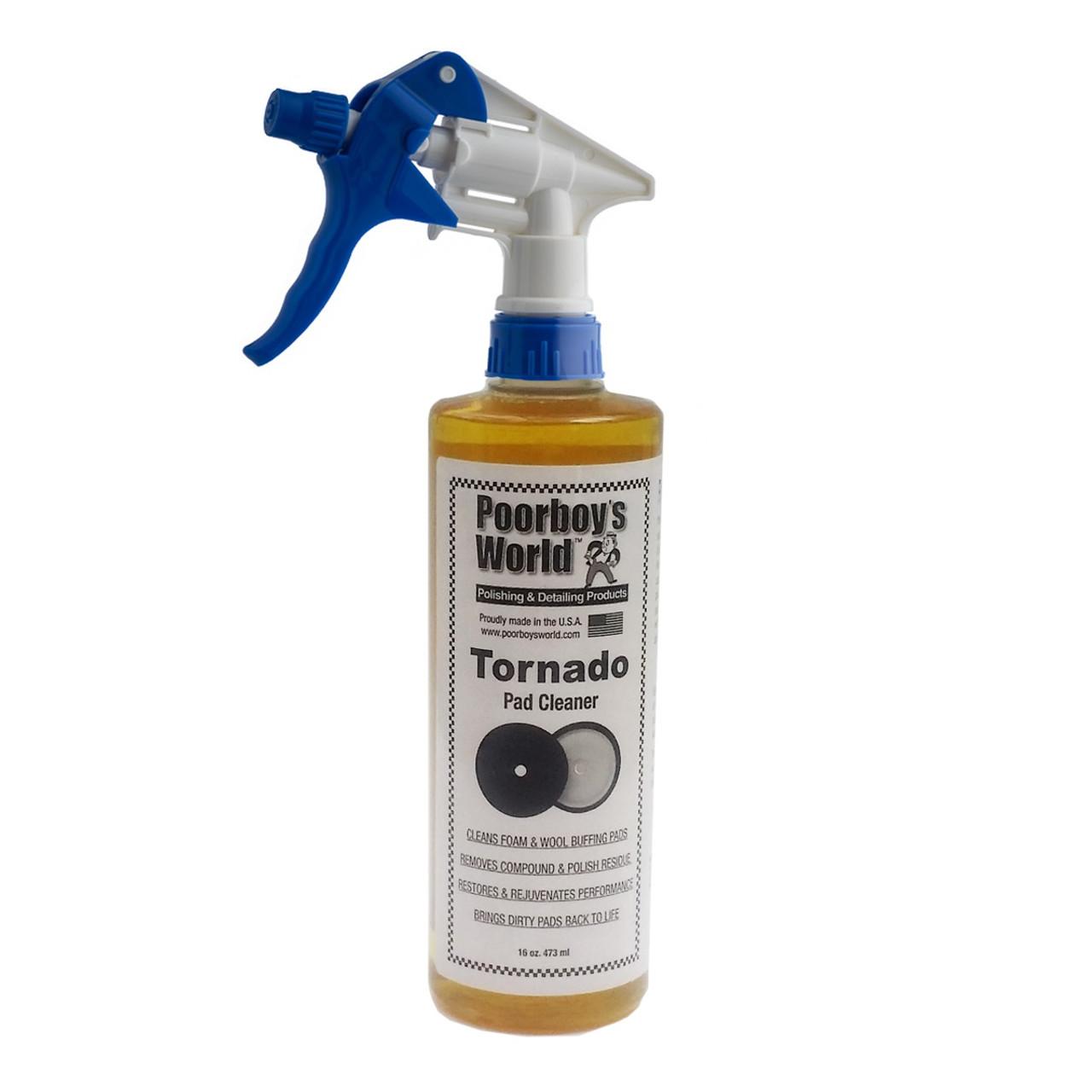 Poorboy's World Tornado Pad Cleaner 16oz w/Sprayer