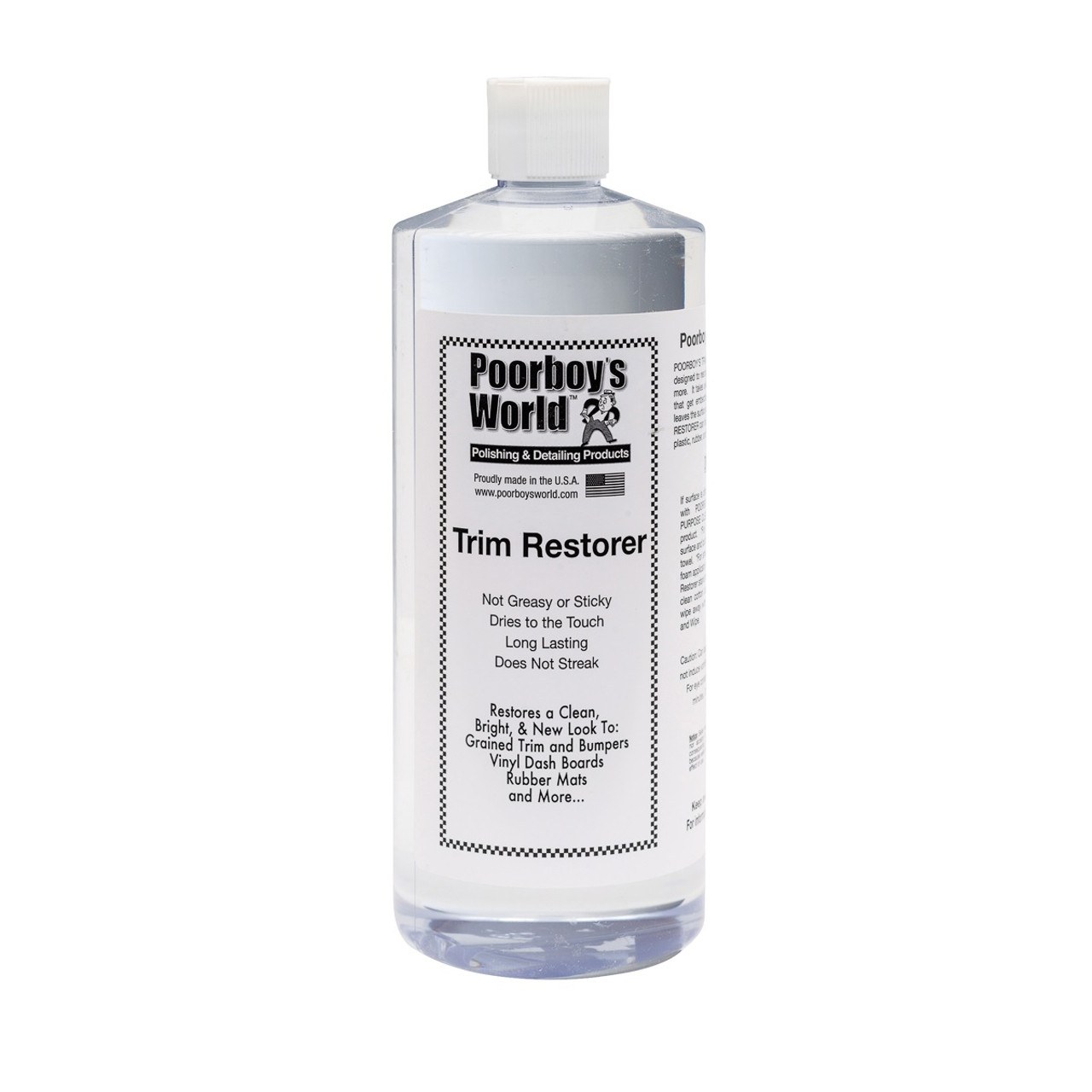 Poorboy's World Trim Restorer 32oz Refill