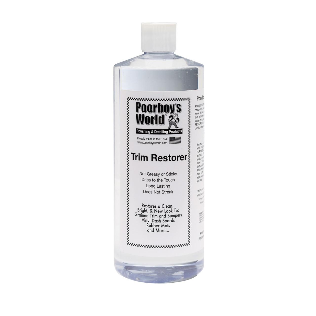 Poorboy's World Trim Restorer 32oz Refill
