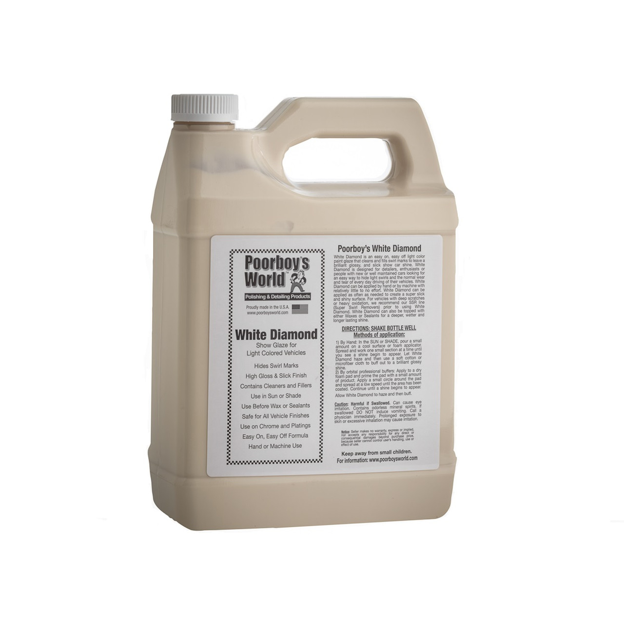 Poorboy's World White Diamond Gallon