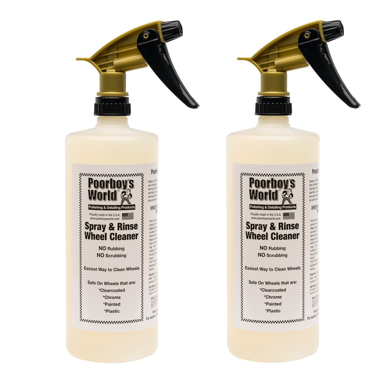Spray & Rinse Wheel Cleaner 32oz - Lot of 2