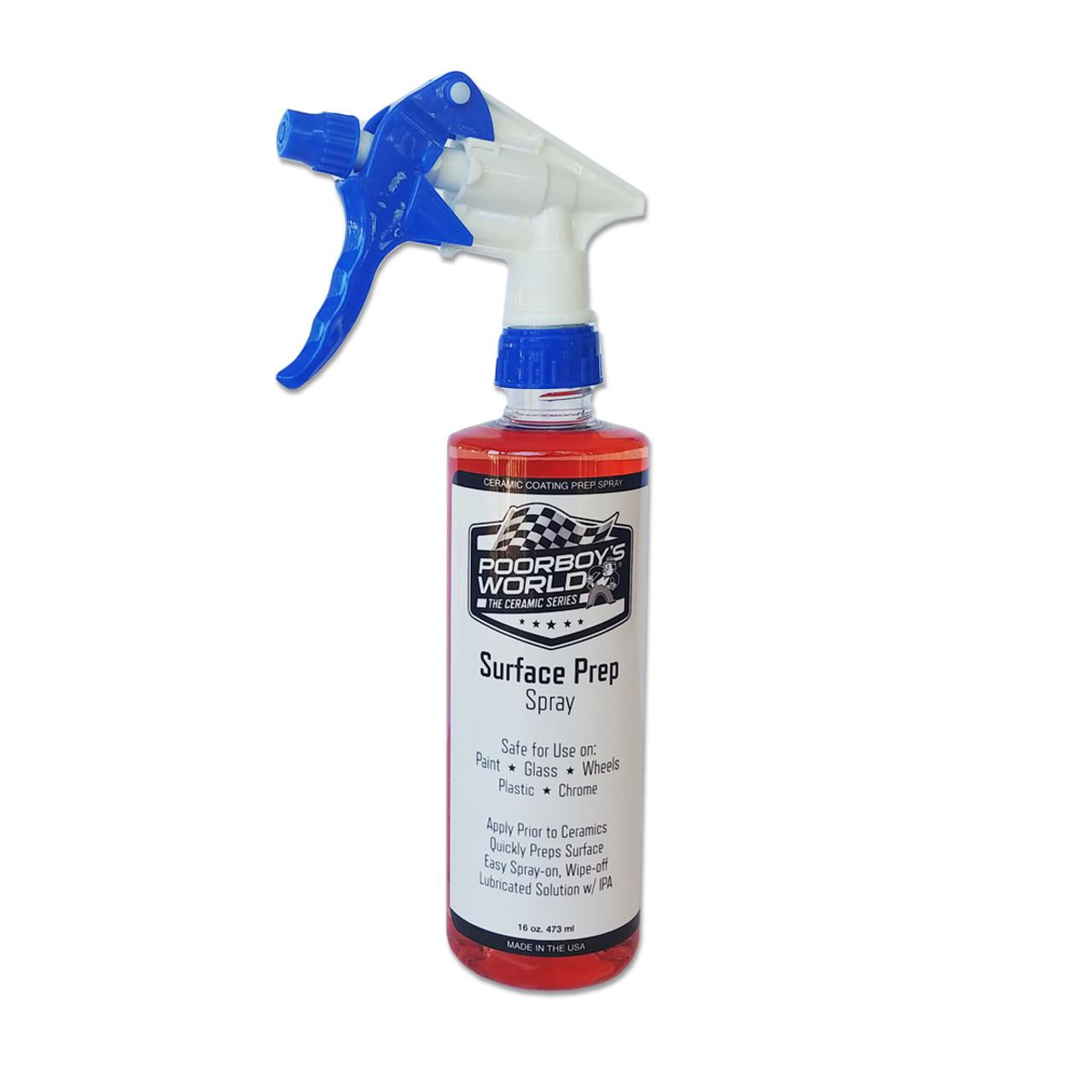 Poorboy's World Surface Prep Spray 16 oz w/ Sprayer