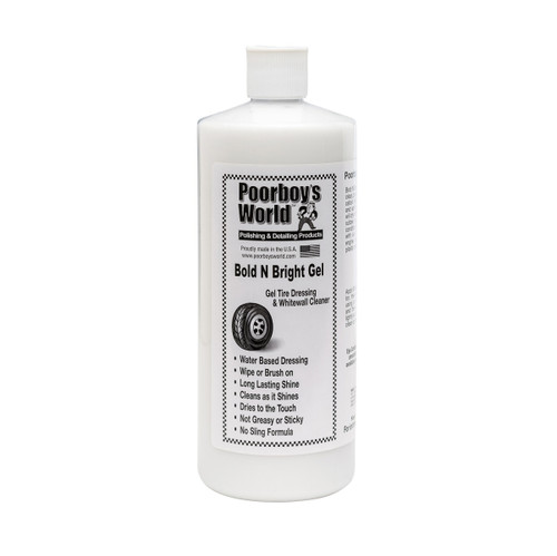 Poorboy's World Bold N Bright Gel 32oz