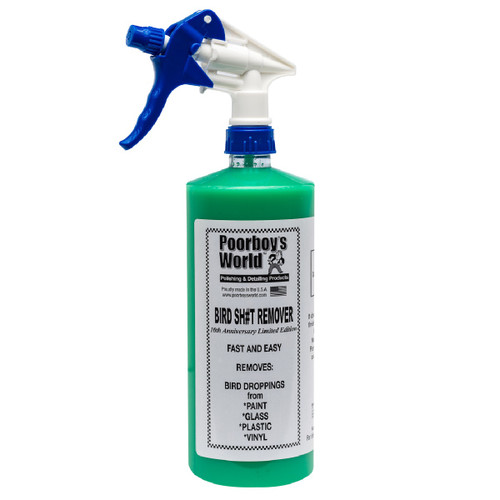 Poorboy's World Bird Sh#t Remover 32oz w/Sprayer