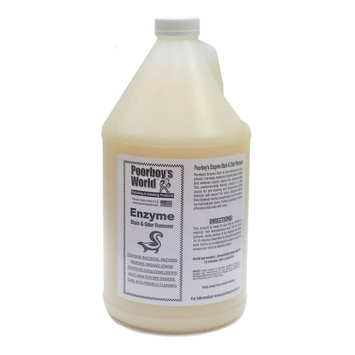 Poorboy's World Enzyme Stain & Odor Remover Gallon