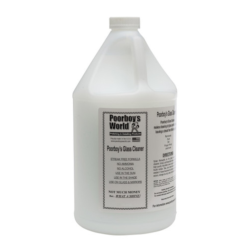 Poorboy's World  Glass Cleaner Gallon