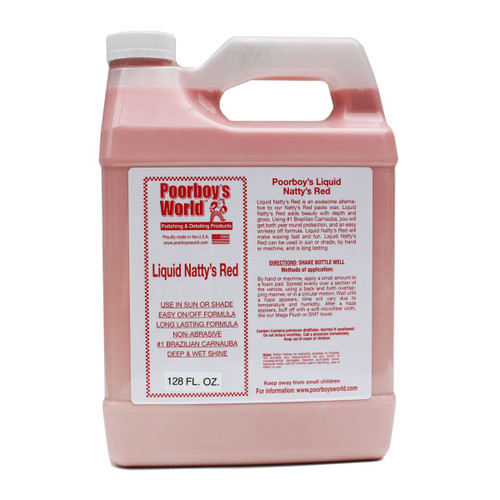 Poorboy's World Liquid Natty's Red Gallon