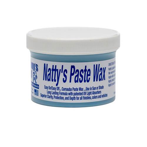Poorboy's World Natty's Paste Wax - Blue 8oz