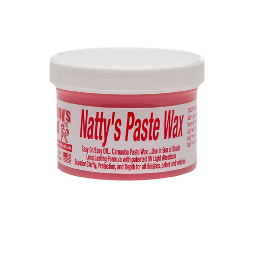 Poorboy's World Natty's Paste Wax - Red 8oz