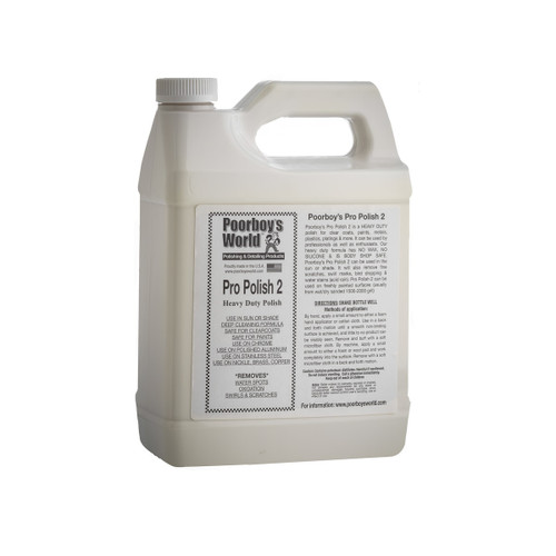 Poorboy's World Pro Polish 2 Gallon