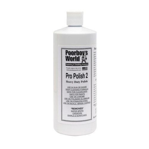 Poorboy's World Pro Polish 2 32oz
