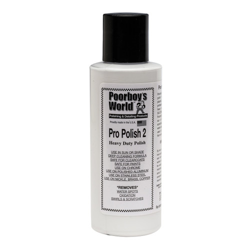 Poorboy's world Pro Polish 2 4oz - Trial Size