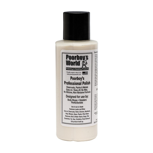 Poorboy's World Professional Polish 4oz - Trial Size