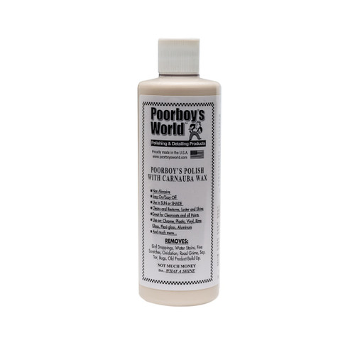 Poorboy's World Polish with Carnauba 16oz