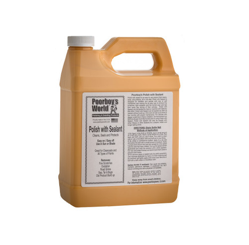 Poorboy's World Polish with Sealant Gallon